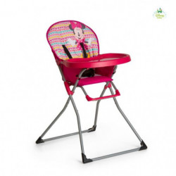 MINNIE Chaise haute Mac Baby Geo pink - Disney Baby