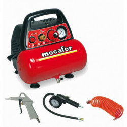 MECAFER Compresseur d'air NEW VENTO 6 L 1,5 CV 8 bar