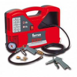 FERRUA Compresseur d'air sans huile Idy 1.5 HP 1100 W