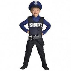 CESAR - F586 - Déguisement policier - 3 / 5 ans