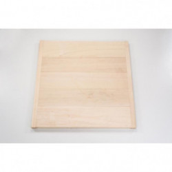 MECABOIS Planche a Palet en bois pour le jeu du palet breton