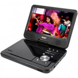 "D-JIX PVS1006-20 Lecteur DVD portable 10"" rotatif - Noir"