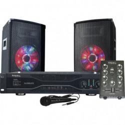 IBIZA DJ350LED Kit de sonorisation Disco