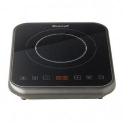 BRANDT TI1FSOFT Table de cuisson posable a induction Noir