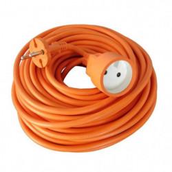 Rallonge électrique de jardin câble HO5VVF 2x1.5mm2