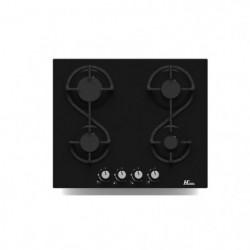 HUDSON HTG 4 VN -  Table de cuisson gaz - 4 foyers - L 60 cm