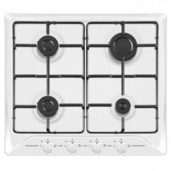 HUDSON HTG 640 B - Table de cuisson gaz - 4 foyers - L 60 cm