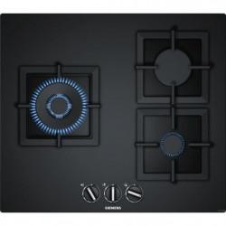 SIEMENS EP6A6CB20 Table de cuisson gaz - 3 foyers - 8000W