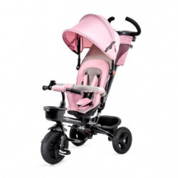KINDERKRAFT Tricycle AVEO Rose - 3 roues - Evolutif