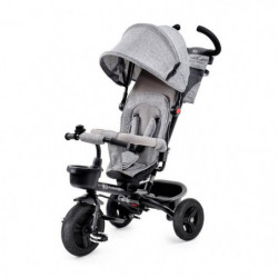 KINDERKRAFT Tricycle AVEO Gris - 3 roues - Evolutif