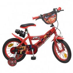 """Vélo 14"""" Miraculous - Mixte - Rouge"""