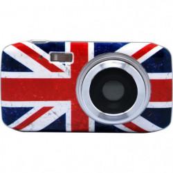 TEKNOFUN Appareil photo numérique UK Grunge - 8 MP - Bleu