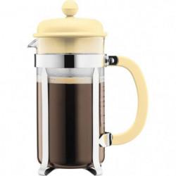 BODUM CAFFETTIERA Cafetiere a piston - 8 tasses - 1 L - Jaune