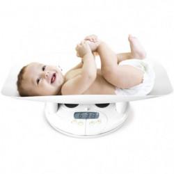 DBB REMOND Pese bébé électronique avec toise - Blanc