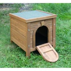 KERBL Outdoor maisonnette pour petits animaux - 36x36x40cm