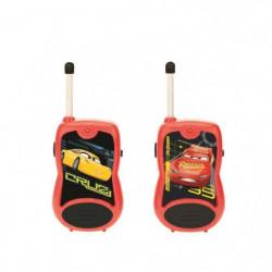 LEXIBOOK - CARS 3 - Talkie Walkie, portée de 100m