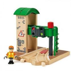 BRIO World  - 33674 - Station De Controle Et D'Aiguillage