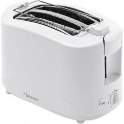Toasteur - 750W - avec chauffe croissant - en blanc
