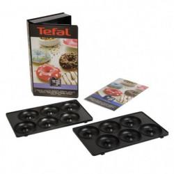 TEFAL Accessoires XA801112 Lot de 2 plaques beignets Snack C