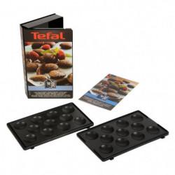 TEFAL Accessoires XA801212 Lot de 2 plaques mini bouchées Sn