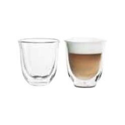 DELONGHI Lot de 2 tasses Capuccino - 19 cl