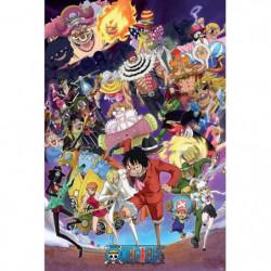 Poster One Piece - Big Mom saga roulé filmé (91.5x61)  - ABY