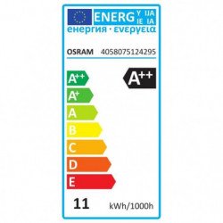 OSRAM Lot de 2 Ampoules LED standard E27 - 11 W - Dépoli - B