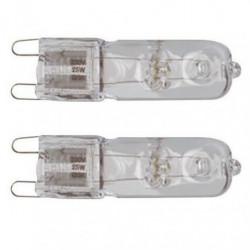 TEC HIT LIGHT Lot de 2 ampoules halogenes G9 230 V 40 W équi