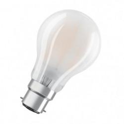OSRAM Ampoule LED B22 standard dépolie 11 W équivalent a 94