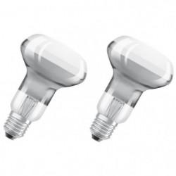 OSRAM Lot de 2 Ampoules Spots LED R63 E27 2,8 W équivalent a