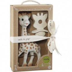 SOPHIE LA GIRAFE Coffret Natural Soother So pure - Jouet Sop