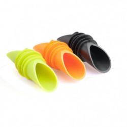 Lot de 3 becs verseur - Orange / Noir  / Vert