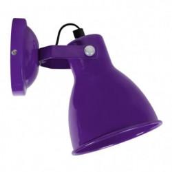 Applique Broadway - Métal violet - E14 40W