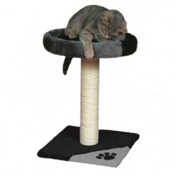 TRIXIE Tarifa Arbre a chat Hauteur 52 cm gris et noir peluch