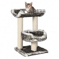 TRIXIE Isaba Arbre a chat Hauteur 62 cm noir et blanc peluch
