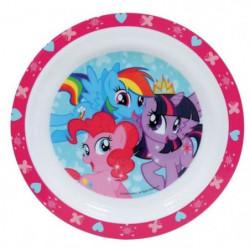 Fun House My Little Pony assiette micro-ondable pour enfant