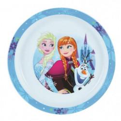 Fun House Disney Reine des Neiges assiette micro-ondable pou