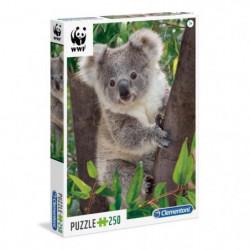 WWF Puzzle 250 pieces - Bébé Koala - 48 X 33 cm