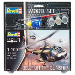 REVELL Model-Set Bell UH-1H Gunship - Maquette