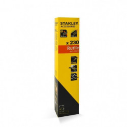 STANLEY 460933  Lot de 165 électrodes rutiles acier - Ø 3,25