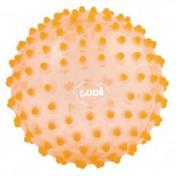 LUDI Balle Sensorielle Orange - Diametre 20 cm