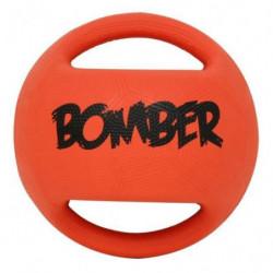 ZEUS Balle en caoutchouc Bomber 11,4 cm - Orange et noir - P