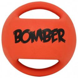 ZEUS Balle en caoutchouc Bomber 17,8 cm - Orange et noir - P