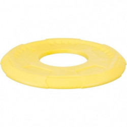 TRIXIE Frisbee Sporting 23 cm - Jaune et bleu  - Pour chien