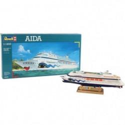 REVELL Model-Set AIDA - Maquette bateau - Echelle 1:1200