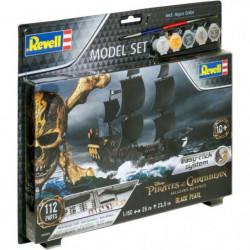 REVELL Model Set Easy-Click Bateaux Black Pearl 65499