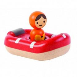 PLAN TOYS Jeu en bois Mon bateau de sauvetage