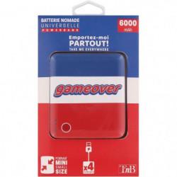 T'nB GAME OVER PBUS6000GO Batterie de secours 6000 mAh