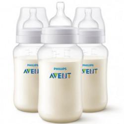 PHILIPS AVENT Lot de 3 biberons Anti-colic - Systeme anti-co