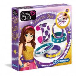 CLEMENTONI Crazy Chic - Bracelets Fashion Style - Création b